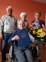100 urodziny Romana Sarwy z Czerwonki - Leszczyn