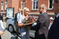 Wicepremier Elżbieta Bieńkowska z wizytą w Starostwie Powiatowym_1
