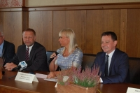 Wicepremier Elżbieta Bieńkowska z wizytą w Starostwie Powiatowym_3
