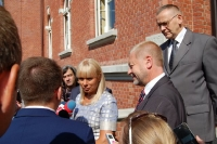 Wicepremier Elżbieta Bieńkowska z wizytą w Starostwie Powiatowym_6