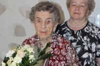 Wyjątkowe urodziny najstarszej mieszkanki naszego powiatu! Pani Anna  skończyła 107 lat!